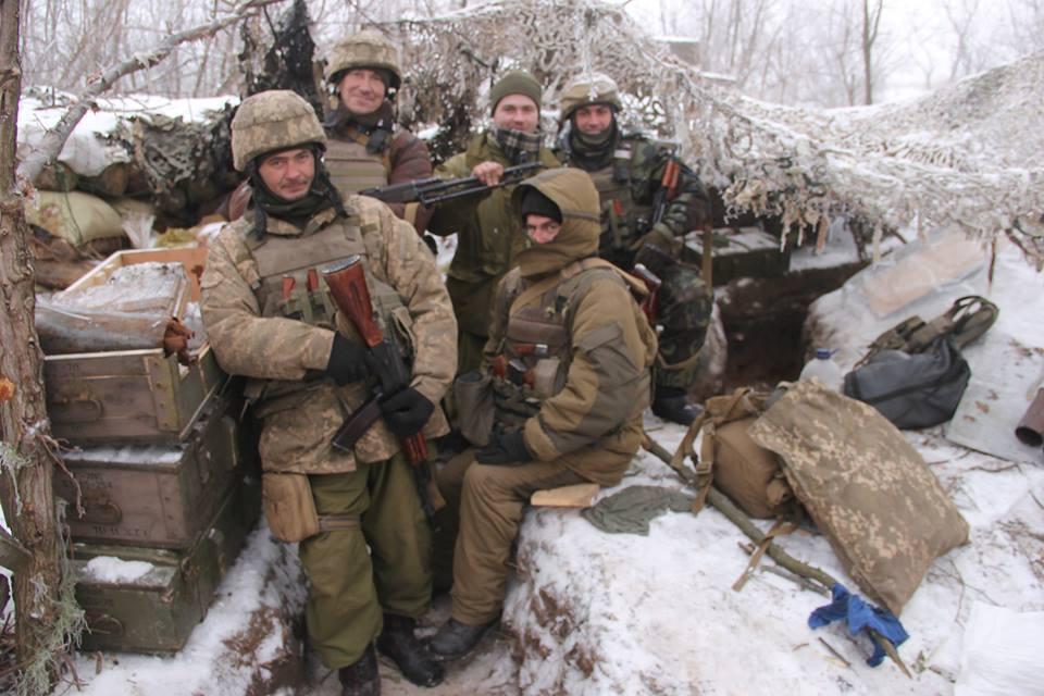 За прошедшие сутки боевики 46 раз открывали огонь по позициям ВСУ, пятеро украинских бойцов ранены, - штаб - Цензор.НЕТ 9646