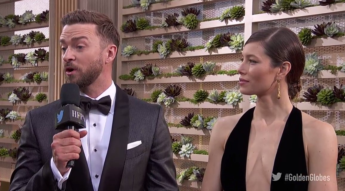 Justin Timberlake and Jessica Biel's Glamorous Golden Globes Date Night: 'My Wife Is the Greatest of All Time'