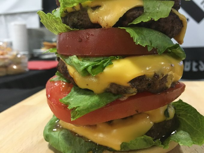 How To Make The New Year's Tower Burger — Recipe
