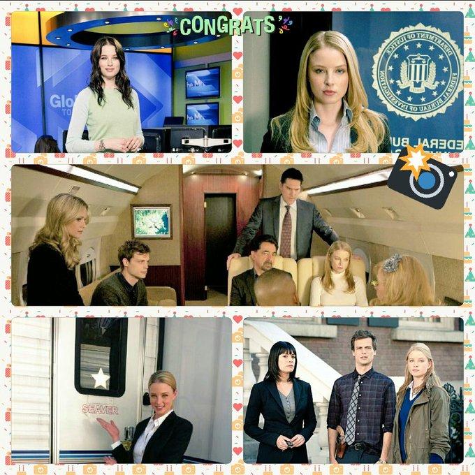 ~they made CM history~ Happy Bday to Rachel Nichols (quien interpretó a Ashley Seaver en la temporada 6 de CM)