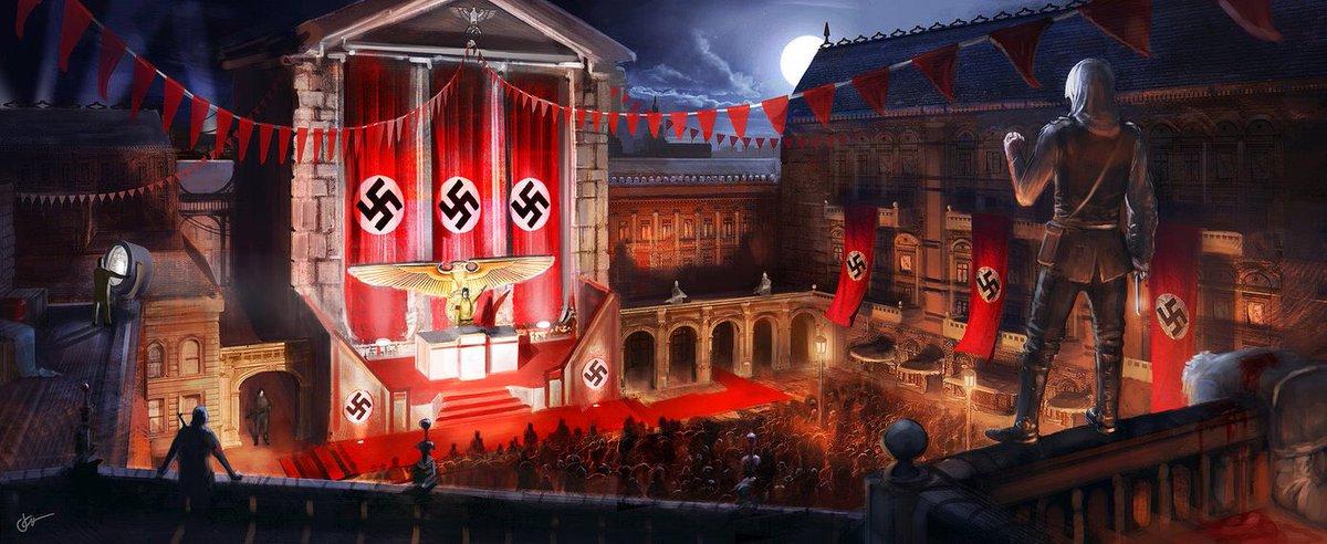 Hasil gambar untuk assassin's creed nazi