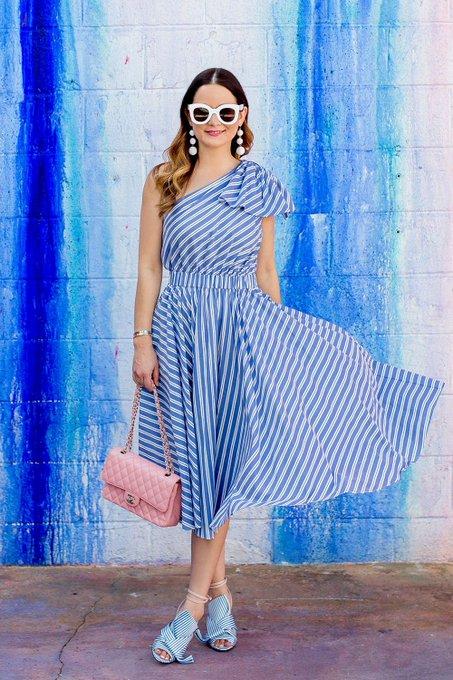 Milly Stripe Anna Dress