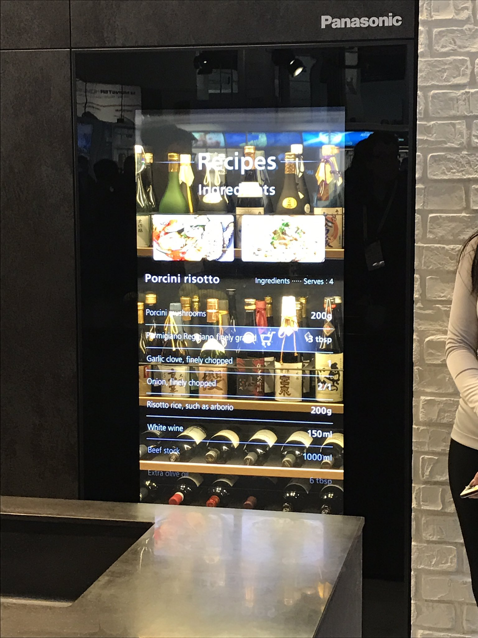 The kitchens are smarter at #CES2017 https://t.co/x8LM0gdtN3