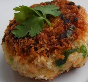 Asian Shrimp Cakes