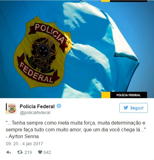 Estadão Sur Twitter Twitter Oficial Da Pf Faz Sucesso Com