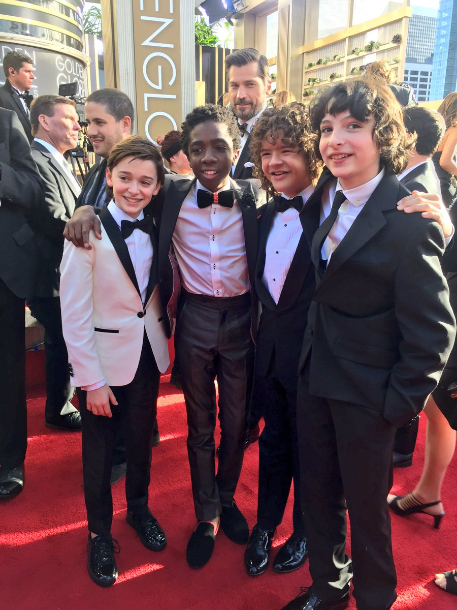dapper jr. stranger things #goldenglobes https://t.co/AZc41aksuz