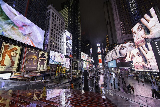 Kunst am Times Square: Pippilotti Rist in New York - watson