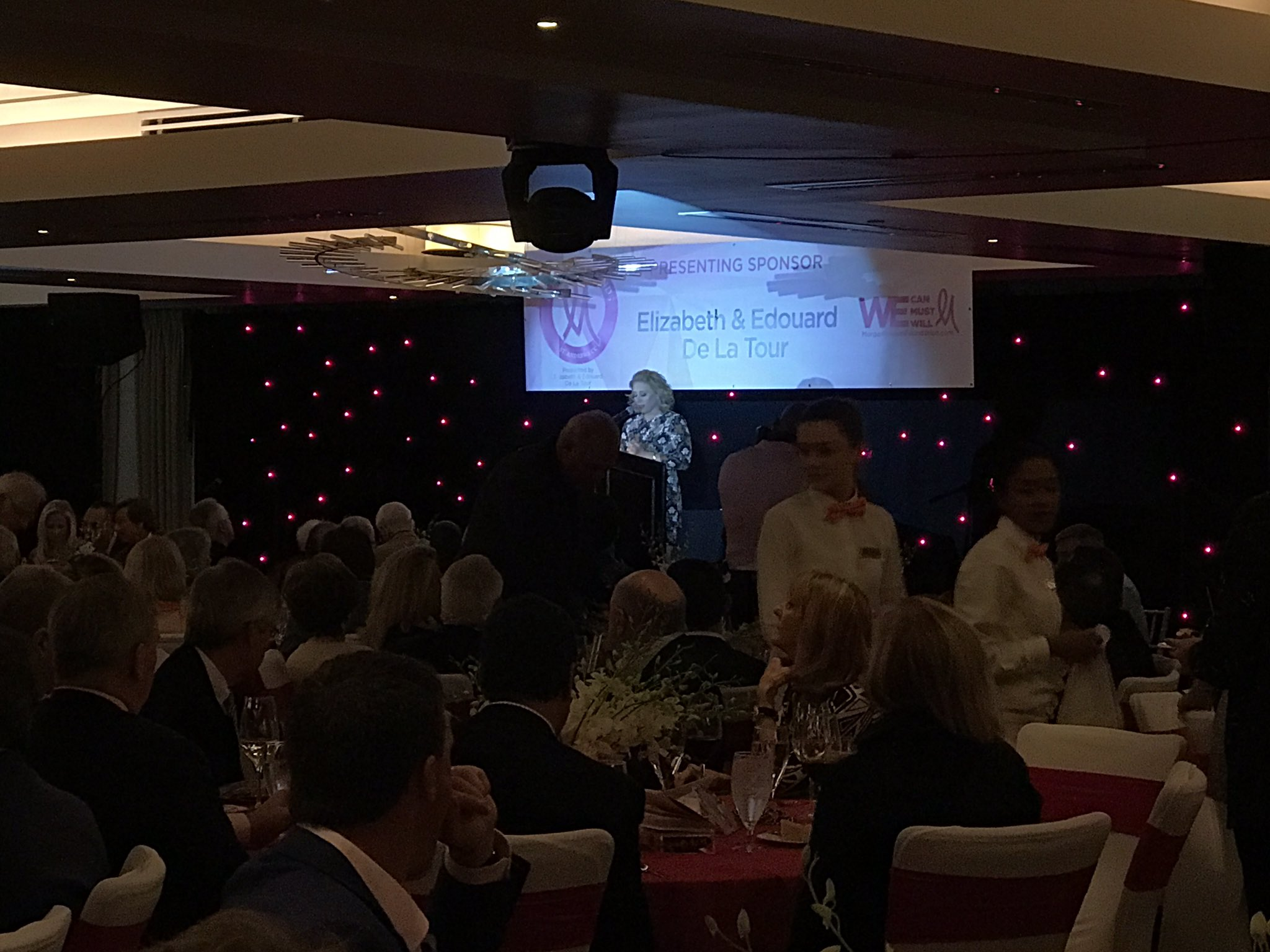 Welcome to the 10th annual Morgan and Friends! @mpressel has raised over $5.5 million! #MorganandFriends17 https://t.co/PhnFW3BxZA