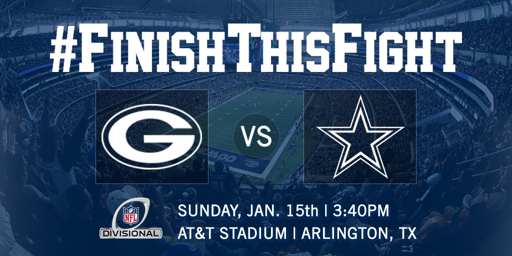 The matchup is set. #FinishThisFight