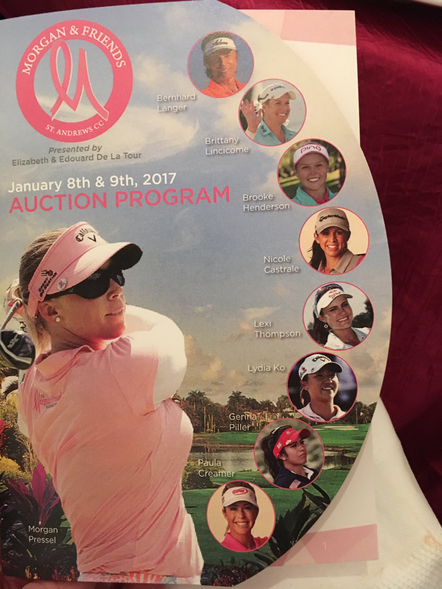 Incredible event! Congrats @MP_Foundation @mpressel !!@amgreetings wishes you the very best @LPGA #morganandfriends17 https://t.co/2BDWY6xgkz