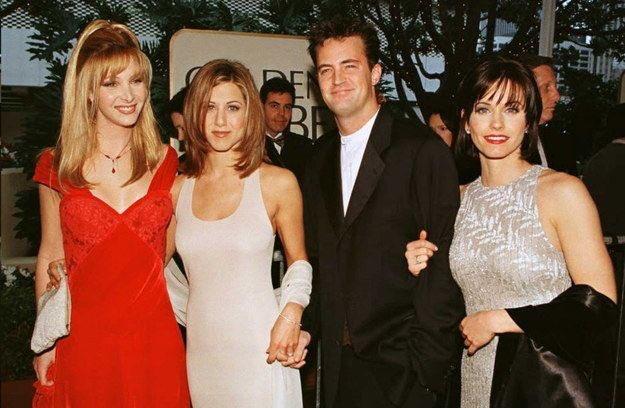 Elenco de Friends no #GloboDeOuro em 1995 <br>http://pic.twitter.com/3161PFjLML