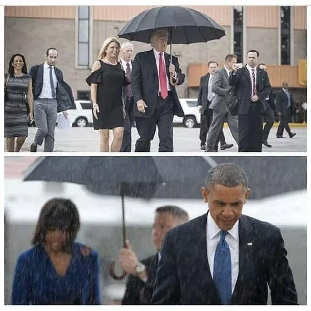The difference between @POTUS and @realDonaldTrump  (in picture form for the right wingers) https://t.co/TvrKSslcCP