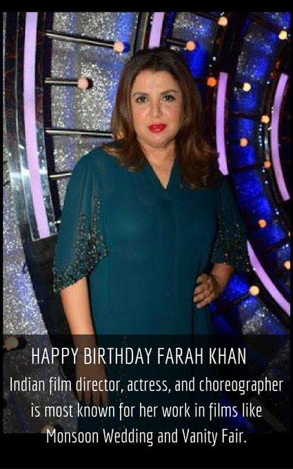 HAPPY BIRTHDAY FARAHKHAN