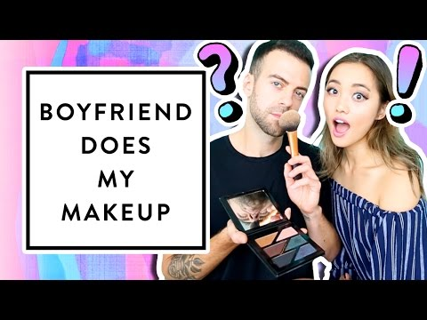 Boyfriend Does My Makeup + Q&A | clothesencounters #diy #tutorial #beauty #makeup
