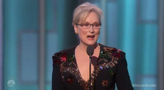 'When the powerful use their position to bully others, we all lose.' - Meryl Streep