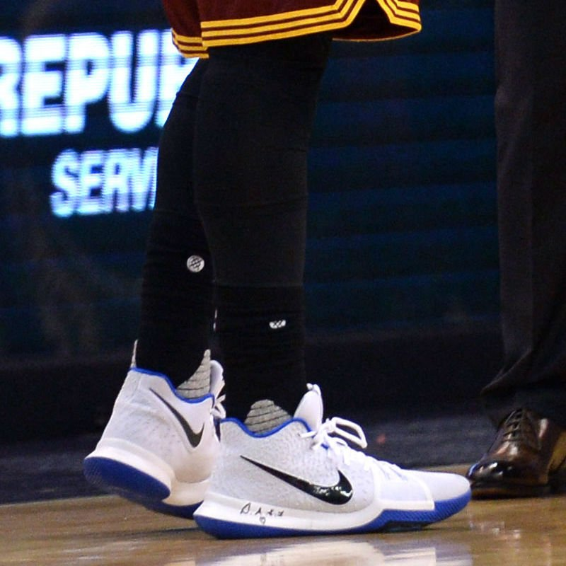 check out f3ced 6521c solewatch kyrieirving debuted a new nike kyrie 3 colorway against the suns