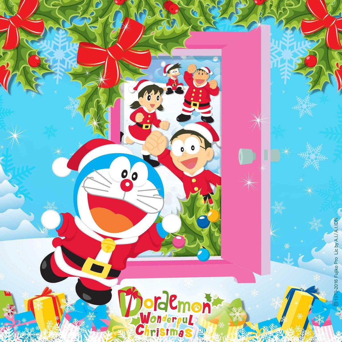 Terima kasih untuk kebersamaan kita selama liburan Natal & Tahun Baru!  Kita berjumpa lagi di acara berikutnya!  #DoraemonIndonesia https://t.co/ZNSq7ONE0b
