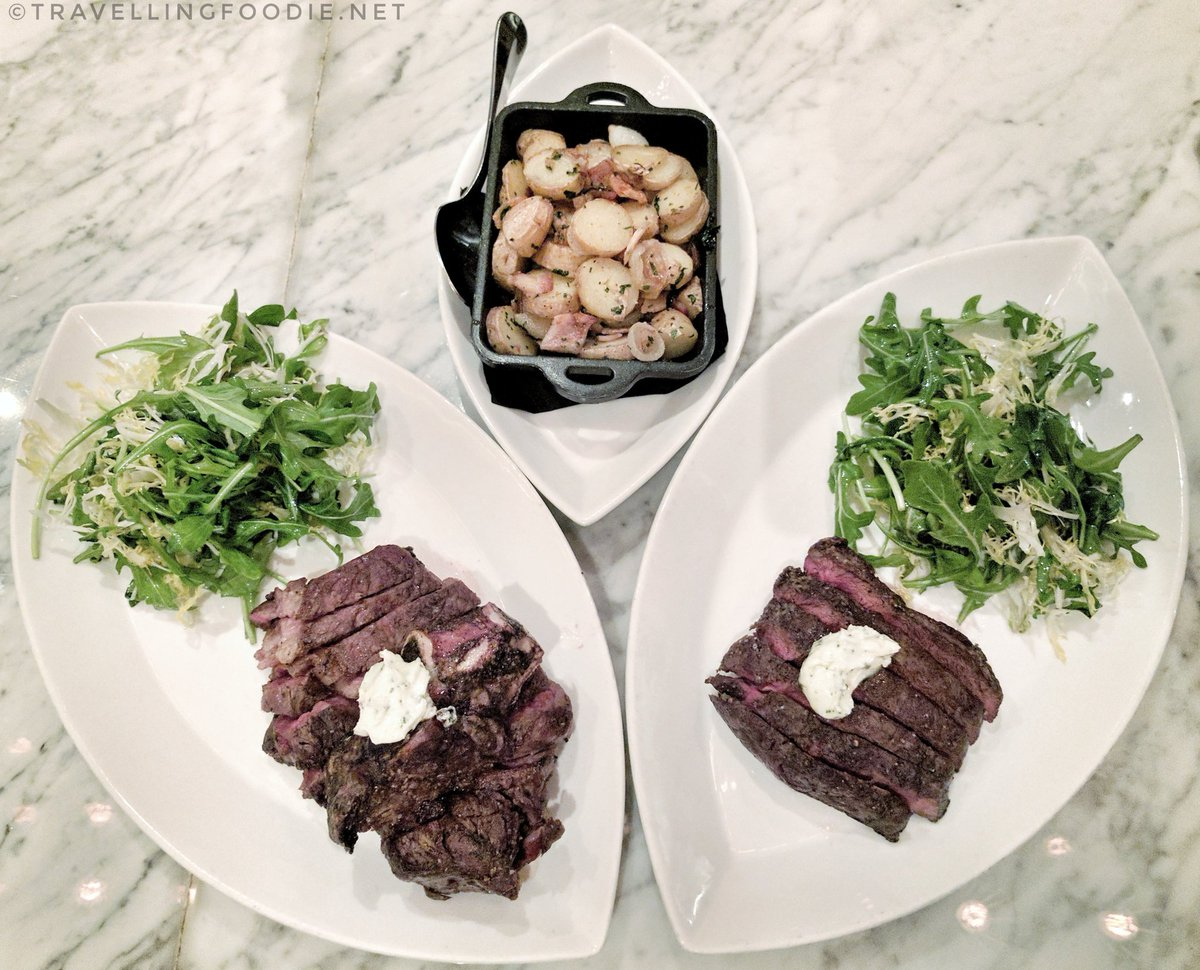 Travelling Foodie Eats Dry Age Ribeye at Public House in The Venetian Las Vegas Nevada