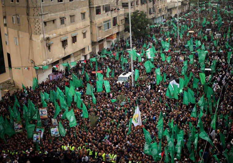 Hamas holds rally in Gaza to celebrate terrorist ramming that killed four Israelis https://t.co/mEB5Bfrj0w #ArabIsraeliConflict