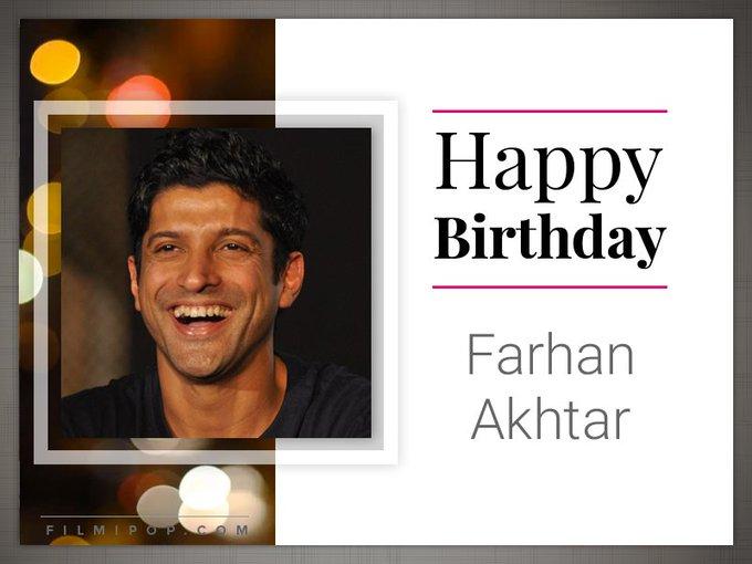 Here\s wishing Farhan Akhtar a very Happy Birthday! :)