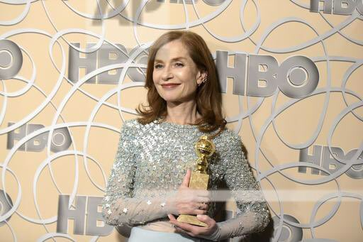 Bravo #IsabelleHuppert sacrée meilleure actrice aux #GoldenGlobes pour sa remarquable interprétation dans #Elle. En route pour les #Oscars ! <br>http://pic.twitter.com/nb8oiAeB5G