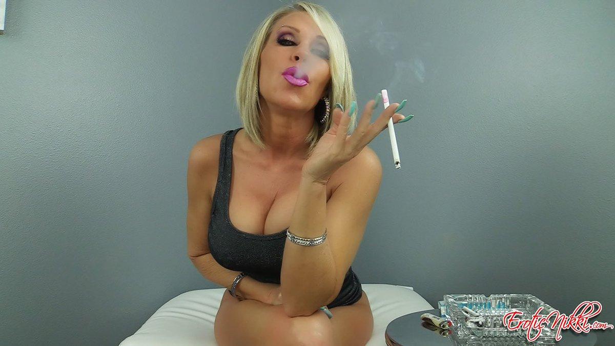 Erotic nikki smoking