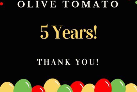 Olive Tomato Turns 5! Ten Most Popular Posts and More
