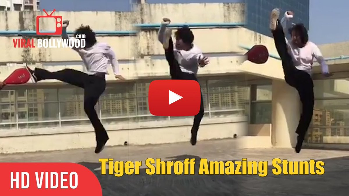 #TigerShroff #Amazing #Stunts | #Spinning off the #year with some #spinkicks  video link- https:// goo.gl/HQQbou  &nbsp;  <br>http://pic.twitter.com/Z1pLELvLf6
