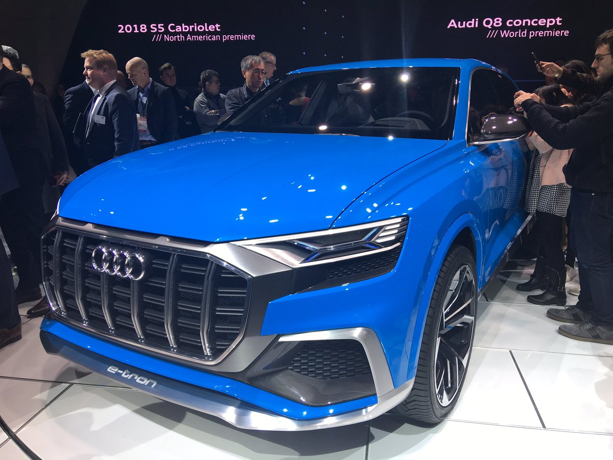 The Q8 concept from @Audi https://t.co/Ke3asSULau
