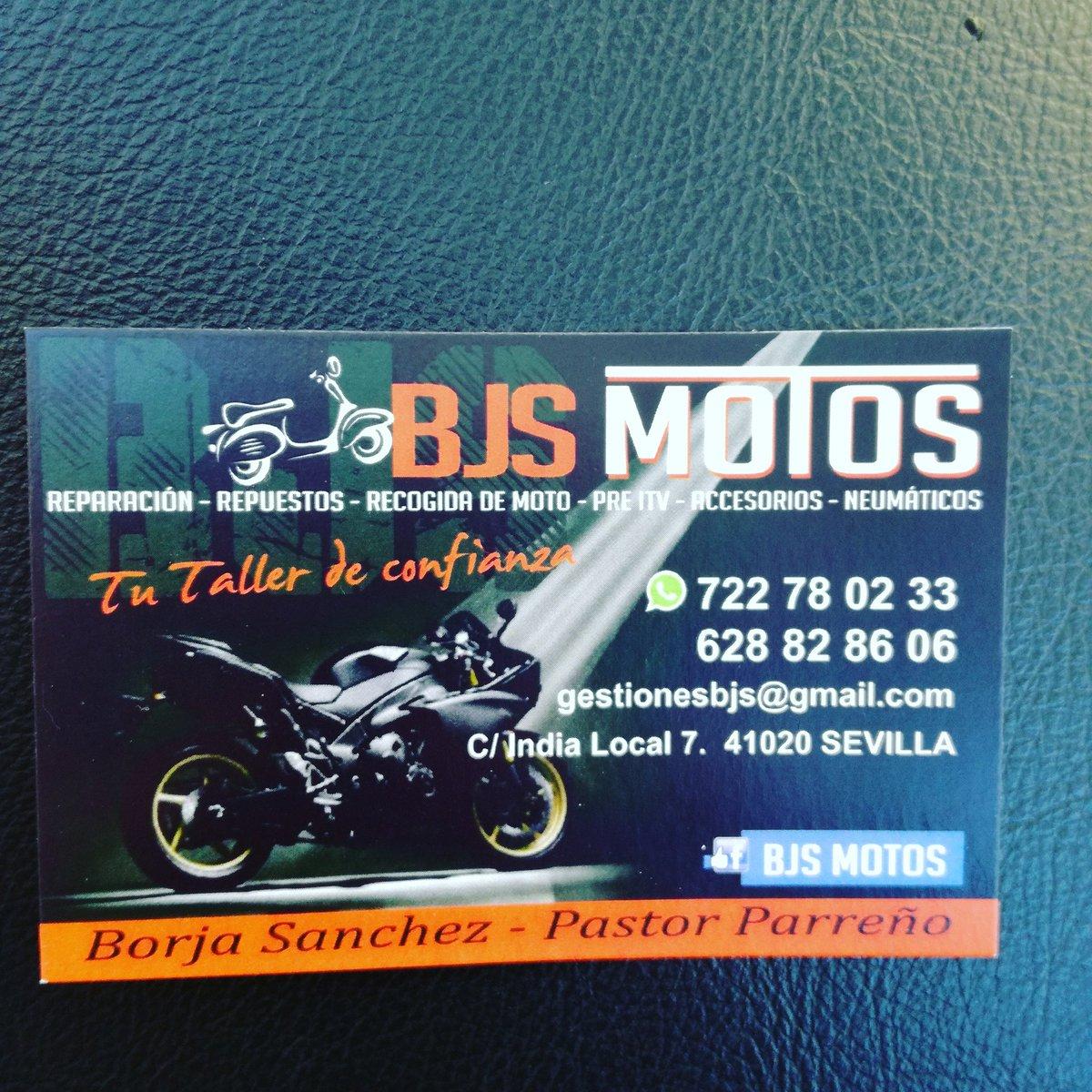 Tarjetas de presentación taller de motos