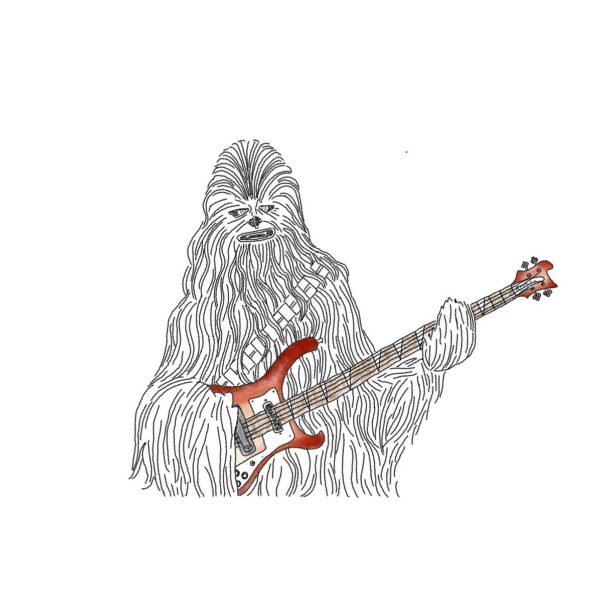 Sillo On Twitter チューバッカとリッケンバッカー Chewbacca
