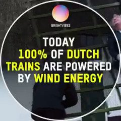 Every Dutch train now runs on wind power