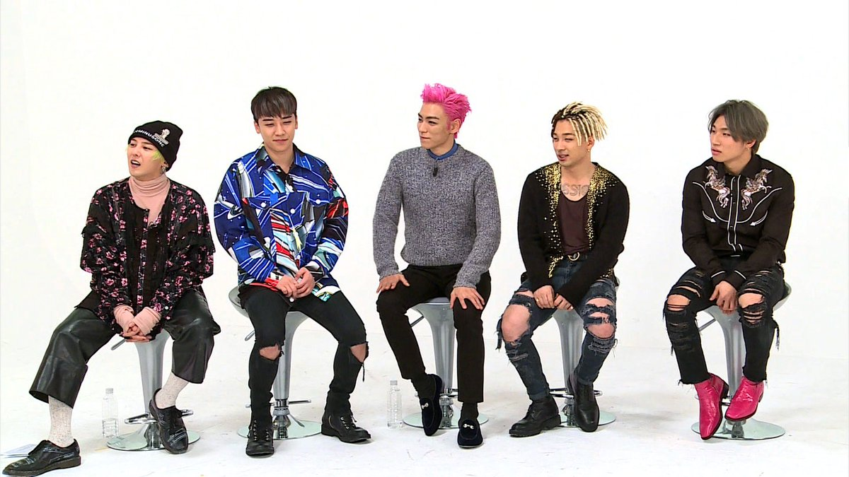 Top Of The Top On Twitter Photos Bigbang On Weekly Idol Part 2