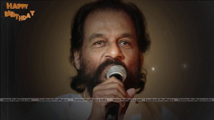 Promajica wishes a very Happy Birthday to the Legendary Singer Dr K.J Yesudas on his 77t