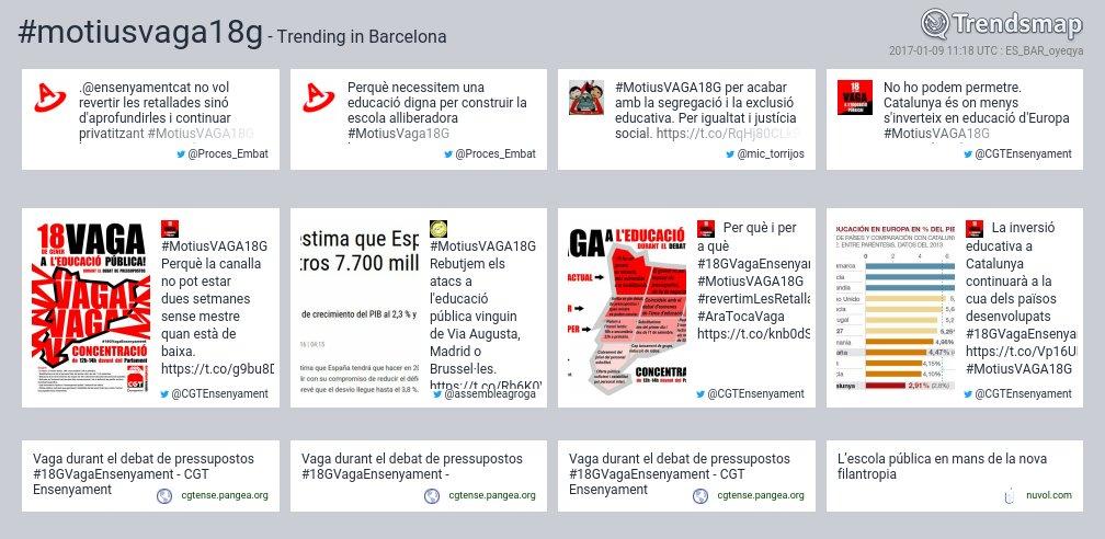#motiusvaga18g es ahora una tendencia en #Barcelona  https://t.co/9APzstRZdc https://t.co/bzfZGw0yjc