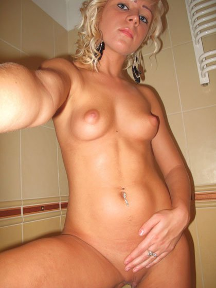 young and fresh blonde pussy