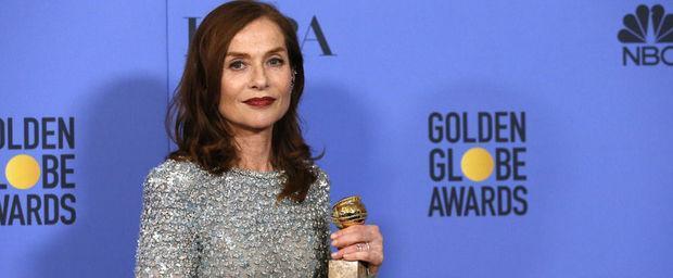 Rencontre avec Isabelle Huppert, femme puissante et monstre sacré  http:// ebx.sh/2i8t59m  &nbsp;   #IsabelleHuppert #GoldenGlobes2017 #Oscars <br>http://pic.twitter.com/6bZYYOGxnU