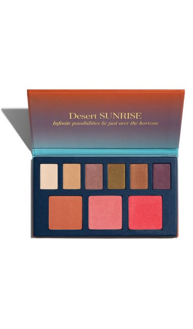 It&#39;s here!! Our new #Palette in Dessert Sunrise A mix of blush colors and eyeshadows,flatters all skin tones.    http://www. beautycounter.com/erinbale  &nbsp;  <br>http://pic.twitter.com/EvOKh2ttbN