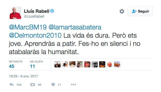 Image result for Rabell twitter aprendras a partir en silenci