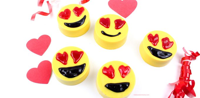 Emoji Candy Coated Oreos