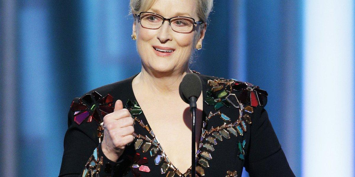 VIDÉO - Meryl #Streep critique #Trump dans un discours bien senti #GoldenGlobes  http:// huff.to/2i6QNDj  &nbsp;  <br>http://pic.twitter.com/n6tWN51S3A