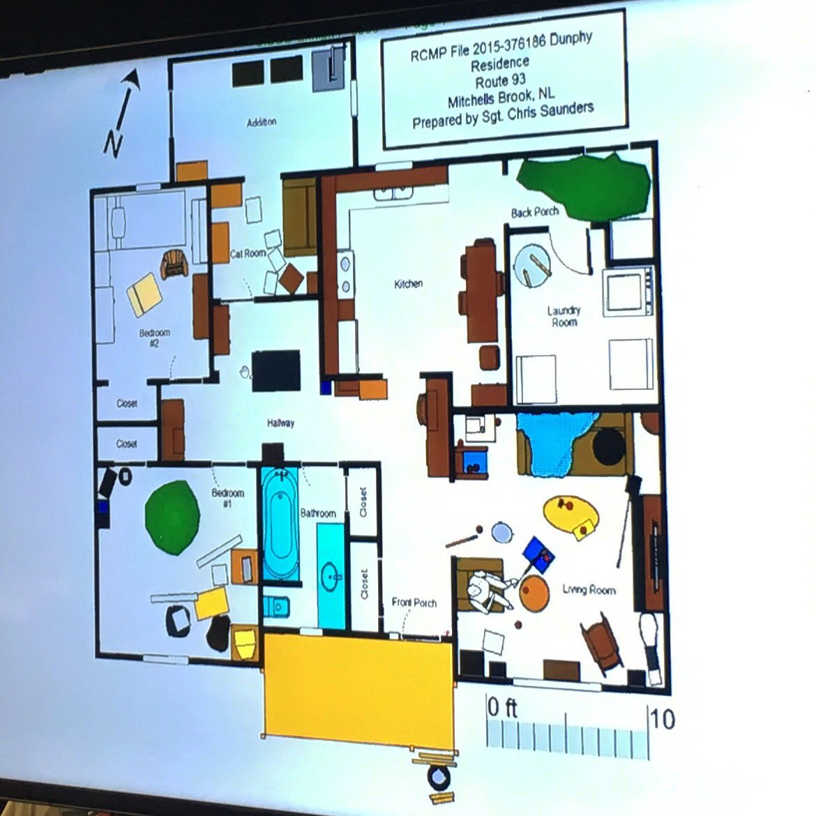 Mark Quinn On Twitter This Is The Floor Plan Of Don Dunphy S House In Mitchells Brook Enter As Evidence At Inquiry Dunphy