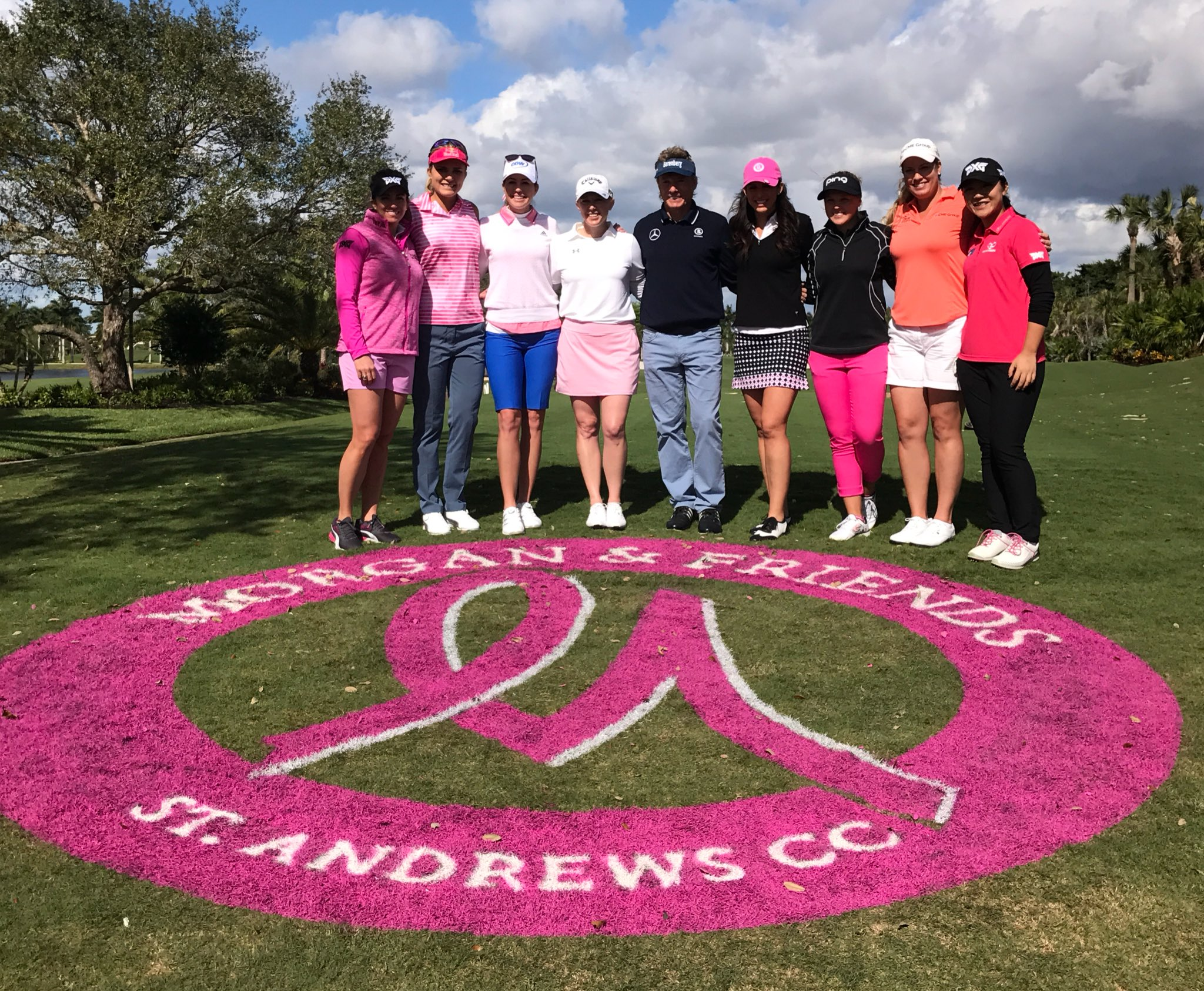 A fabulous group of professionals out today to support #MorganandFriends17! 💗🎀 https://t.co/m2pl1cCw3X