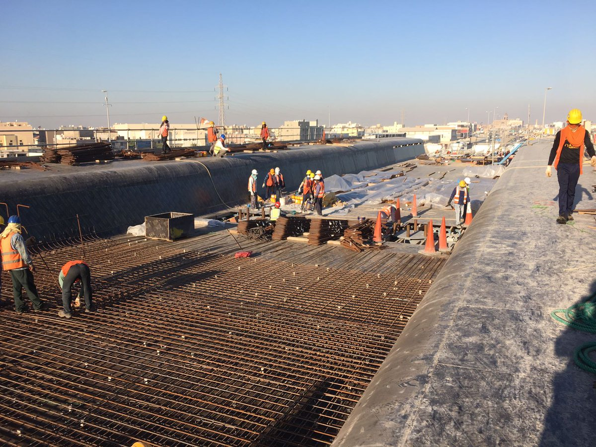 Mekano4 On Twitter First Stage Of Deck Works Sh Jaber Al Ahmed