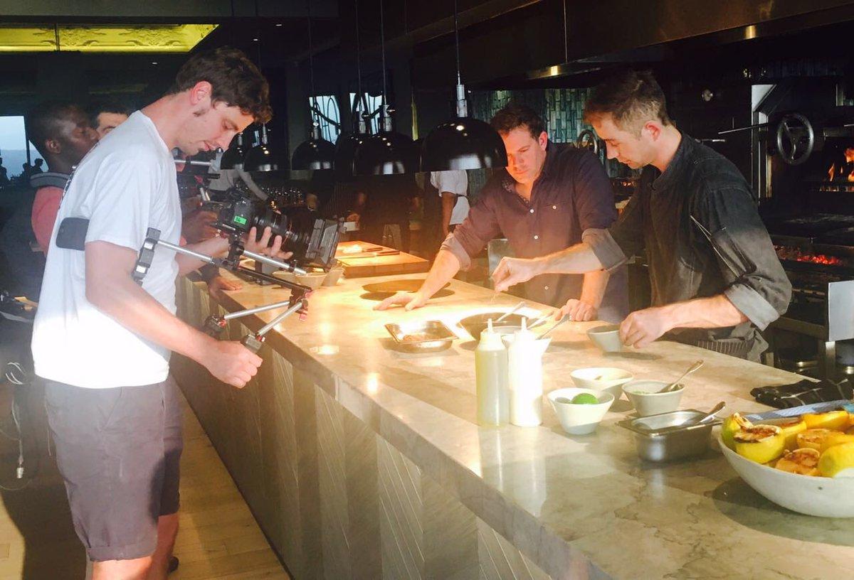"""marble restaurant on twitter: """"filming with @matt_tebbutt for his"""