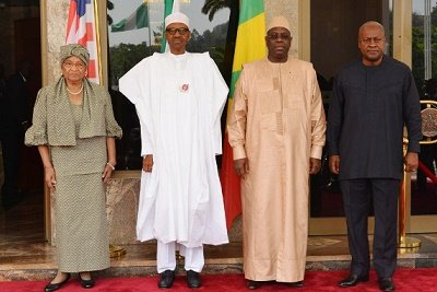 ECOWAS leaders on Monday resolved to meet President Jammeh of Gambia on Wednesday in Banjul to discuss need for him to respect constitution, quit power.
