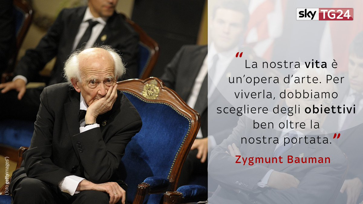 È morto il filosofo e sociologo polacco Zygmunt #Bauman. https://t.co/EOGvXAHcy5