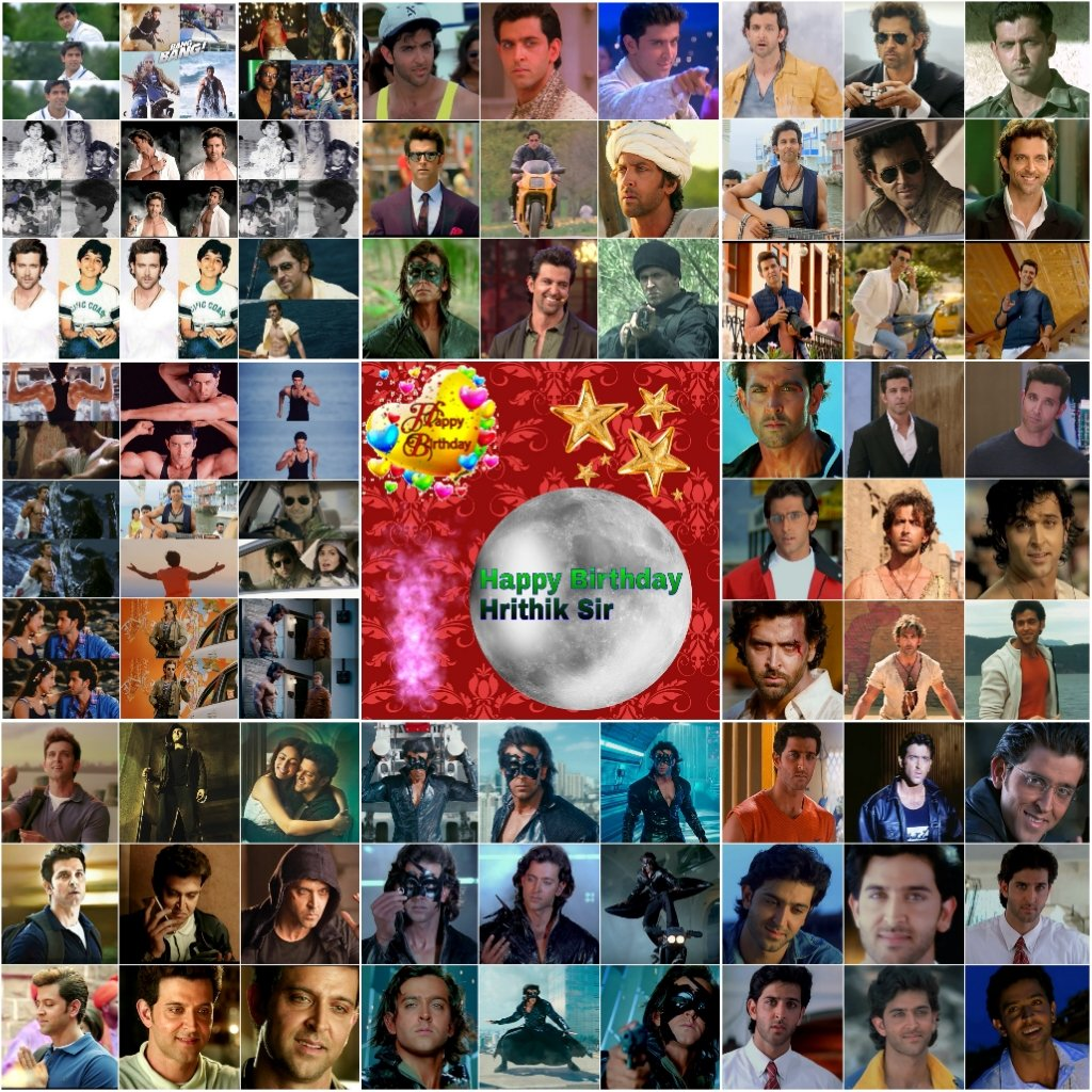 Happy Birthday Hrithik Roshan sir, maybe ye post apko 12 baje k baad milega , plz rply once if u see this