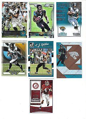 T.J. Yeldon 7 #Card #Football Lot Jacksonville #Jaguars   http:// dlvr.it/N4JVhb  &nbsp;   #NFL<br>http://pic.twitter.com/SuBXlSw7Wv