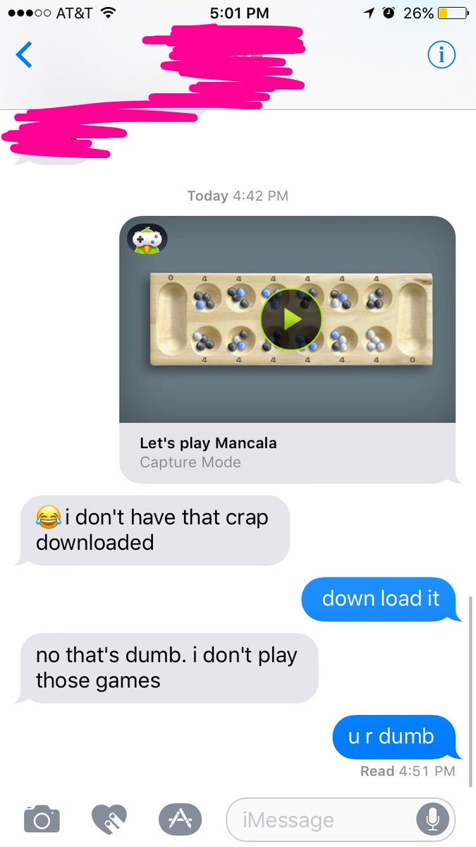 Yo Ellie On Twitter All I Wanted Was To Play Mancala